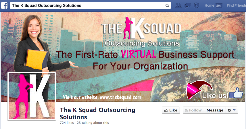The K Squad Outsourcing Solutions Facebook